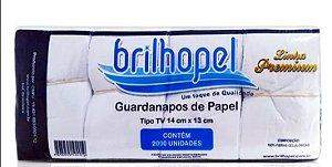 Guardanapo TV  Brilhopel 14x13 C/2000