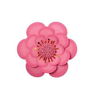 Painel EVA Begonia Grande Rosa Baby Uni