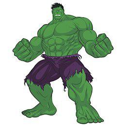 Painel Decorativo EVA Hulk 01 Uni