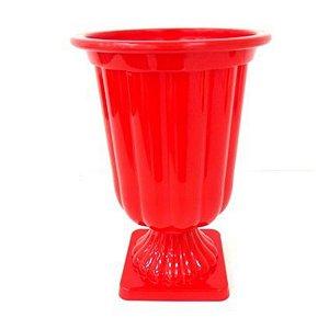 Vaso Plástico Decorativo Médio Cores Uni