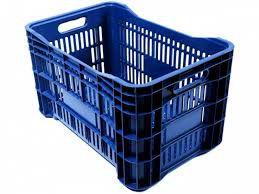 Caixa Plástica Hortifruti 49L Cores Uni