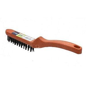 Escova de Aço P/ Limpeza 27cm