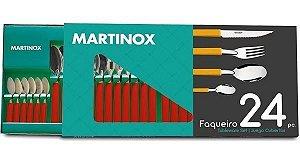 Jogo de Talheres Martinox C/24 Pçs
