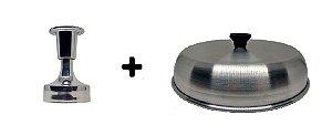 Kit Hambúrguer Pequeno C/ Abafador
