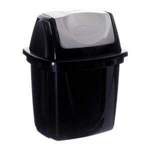Lixeira de Pia E-Black 6,5L