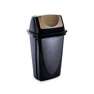 Lixeira Basculante E-Black 45L