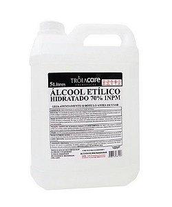 Álcool Etilico Liquido Troia 70% 5L