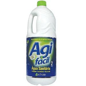 Água Sanitária Agi Fácil 2L Unitário