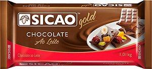 Choc Sicao Ao Leite Gold Barra 1,01kg