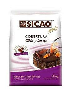 Gota Sicao Choc Meio Amargo Mais 2,05Kg