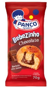 Bebezinho Panco Chocolate 70g c/2Uni