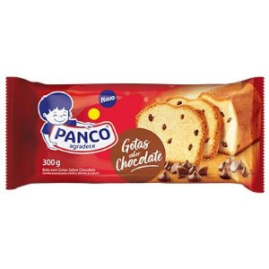 Bolo Panco Gotas de Chocolate 300g