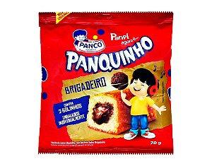 Bolo Panquinho Baunilha Rech Brigadeiro 70g Panco
