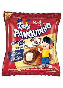 Bolo Panquinho Chocoboy Rech Baunilha 70g Panco
