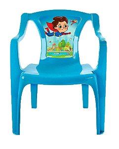 Mini Poltrona Infantil Azul