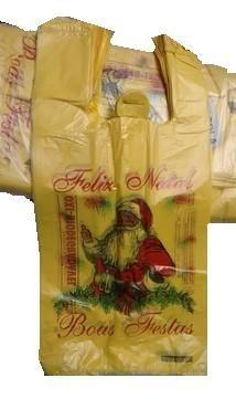 Sacola Papai Noel Biodegradável