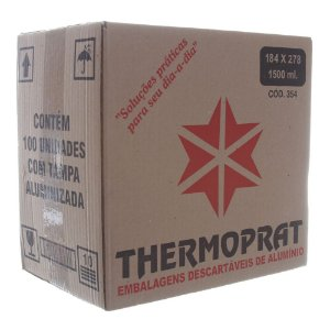 Marmitex Máquina n°9 C/100 Thermoprat
