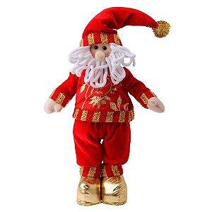 Boneco Noel Dourado