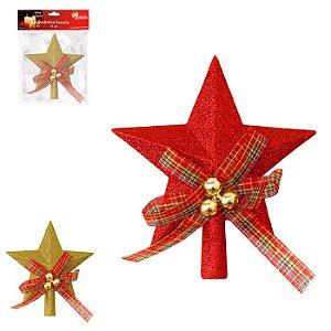Ponteira Estrela 15cm 2 Cores