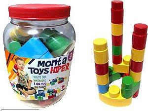 Monta Toys Hiper Pote c/18 Pçs