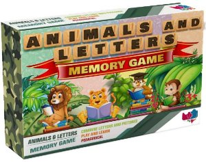 Animals e Letters Memory Game