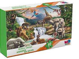 Quebra Cabeça Animais da Selva