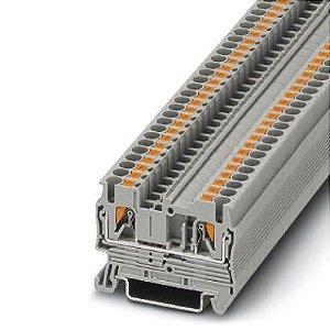 PT 2,5 BORNE CONECTOR DE PASSAGEM CONEXÃO PUSH-IN 2,5MM 3209510 PHOENIX CONTACT