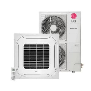 Ar Condicionado Split LG Cassete Inverter 31.000 BTU/h Quente e Frio
