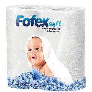 Papel Higiênico Fofex Soft 4X30m