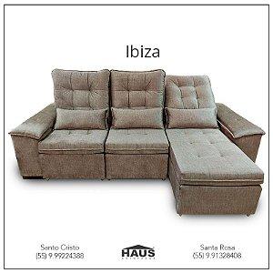 Sofá Ibiza retrátil (Consulte frete e prazos via Whatsapp)