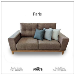 Sofá Paris (Consulte frete e prazos via Whatsapp)