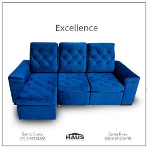 Sofá Excellence (Consulte frete e prazos via Whatsapp)