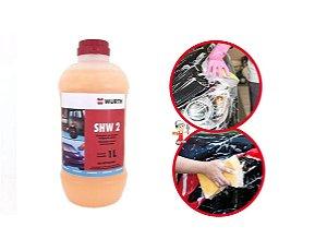 Produto Para Lavar Carro Moto Com Cera de Shampoo Automotivo para carros 1L Wurth
