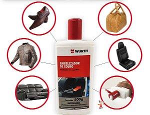 Hidratante De Couro Wurth Produto para hidratar couro de jaquetas sofas botas bolsas e bancos de carro.