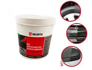 Revitalizador De Plásticos E Borrachas para parachoques paineis Rpw Wurth 680g Renova e protege