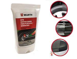 Revitalizador De Plásticos E Borrachas para parachoques paineis Rpw Wurth 100g Renova e protege
