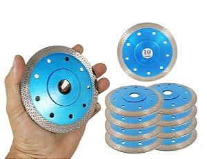 Kit 10 Disco Para Porcelanato RINO o melhor disco para cortar porcelanato acabamento Perfeito ultra fino - Felsen
