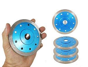 Kit 5 Disco Para Porcelanato RINO o melhor disco para cortar porcelanato acabamento Perfeito ultra fino - Felsen