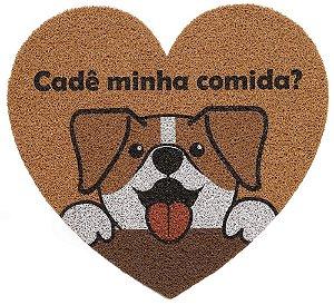 Capacho De Porta Pet Heart Cachorro 55x60 - Kapazi
