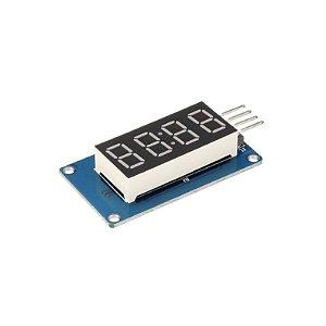 Módulo TM1637 com Display 7 Segmentos 4 Dígitos