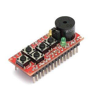 Nanoshield Interface – Botões, LEDs e Buzzer