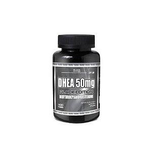 DHEA 50MG BLACK LINE COM 100 TABLETES BLACK NUTRITION