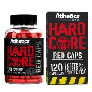 Hardcore Red Caps c/120 Cápsulas - Atlhetica Nutrition