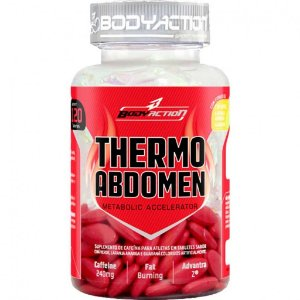 Thermo Abdomen c/120 Tabletes - Body Action