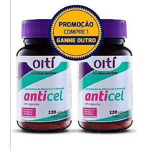 Combo Anticelulite e Gordura Localizada Anticel (Compre 1 Leve 2 )