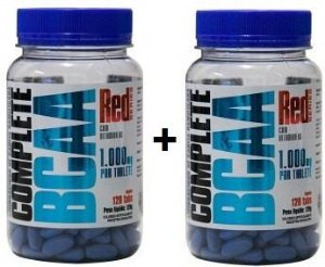 Combo 2 BCAA Complete 1000mg C/120 Tabletes - Red Series