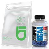 Combo Massa Muscular Bio Shape Whey 3W 1,8kg  + BCAA Complete