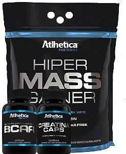 Combo Para Iniciante Massa Muscular - Atlhetica Nutrition
