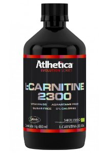 L-Carnitina 2300 480ml - Atlhetica Nutrition