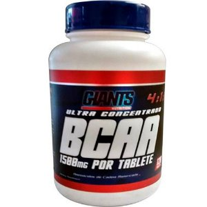 BCAA 4:1:1 com 240 Tabletes de 1500mg cada  - Giants Nutrition